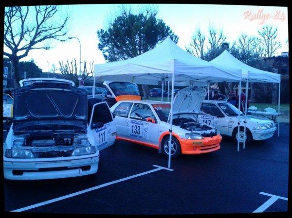 Rallye de Vaison 2014 - Vérifications