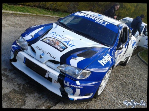 Rallye de Vaison 2014 - Casciani/Mégane Kit-Car