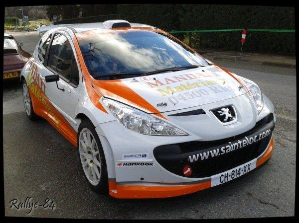 Rallye de Vaison 2014 - Fanguiaire/Peugeot 207 S2000