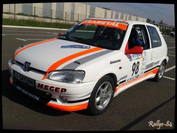 Rallye Haute Provence 2014 - Payan/Peugeot 106