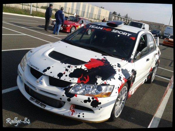 Rallye Haute Provence 2014 - Schifano/Mitsubishi Evo8