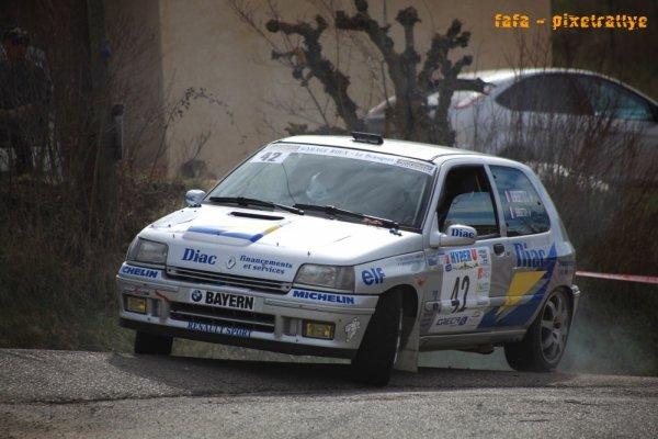 Rallye Haute Provence 2014 - Benedetto/Renault Clio