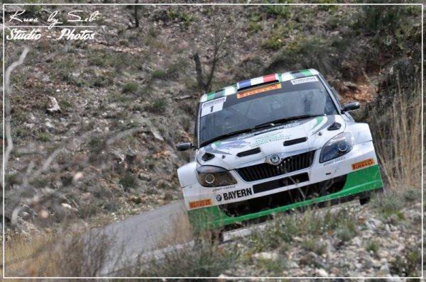 Rallye Haute Provence 2014 - Margaillan/Skoda Fabia S2000