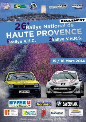 Rallye Haute Provence 2014