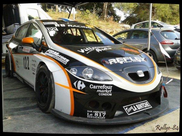 Course de côte de Bagnols-Sabran 2014 - Garces/Seat Leon Supercopa