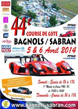 Course de côte de Bagnols-Sabran 2014