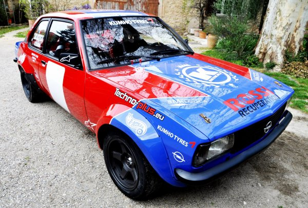 Rallye Orange Ventoux Classic 2014 - Chambon/Opel Ascona