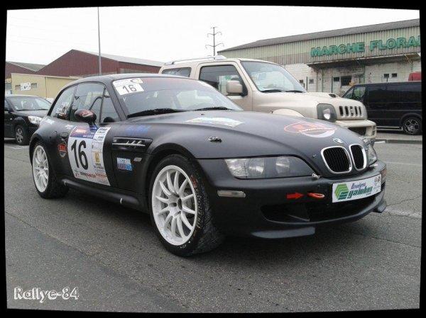 Rallye de Venasque 2014 - Astier/BMW Z3