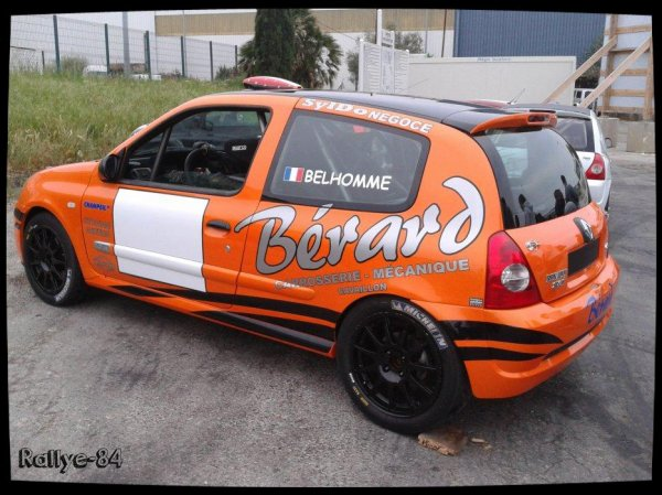 Rallye de Venasque 2014 - Belhomme/Clio Ragnotti