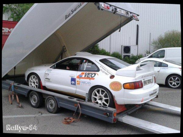 Rallye de Venasque 2014 - Morel/Toyota Celica Gt