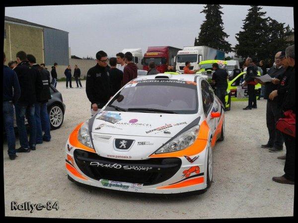 Rallye de Venasque 2014 - Fabre/Peugeot 207 S2000