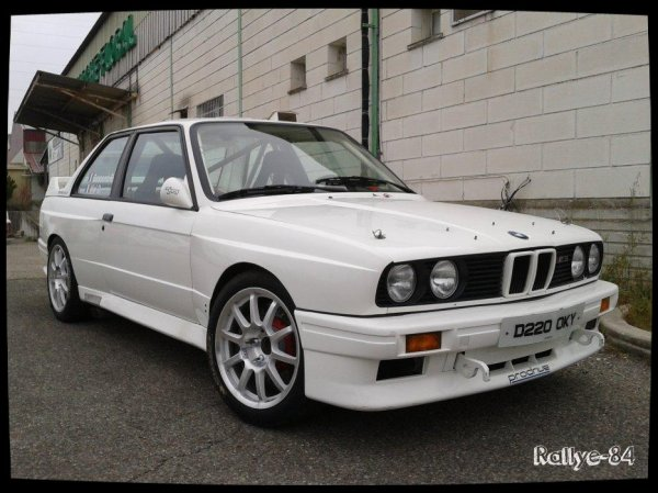 Rallye de Venasque 2014 - Vial/BMW E30