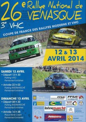 Rallye de Venasque 2014