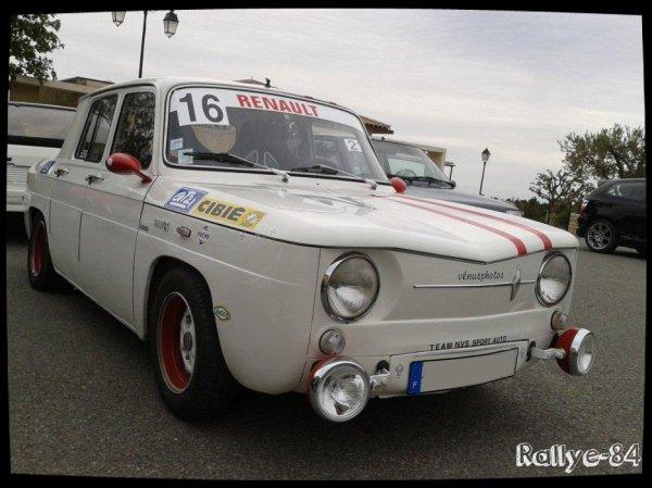 Montée historique Blauvac 2014 - Renault 8