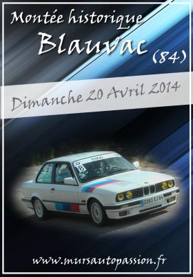 Montée historique de Blauvac 2014