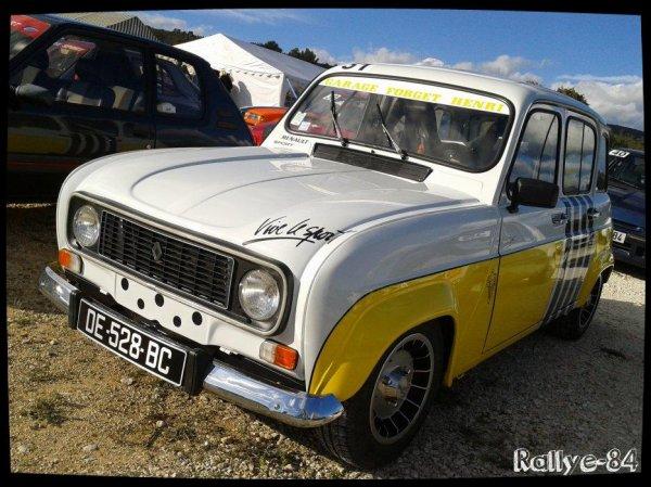 Montée historique de Lioux 2014 - Renault 4L