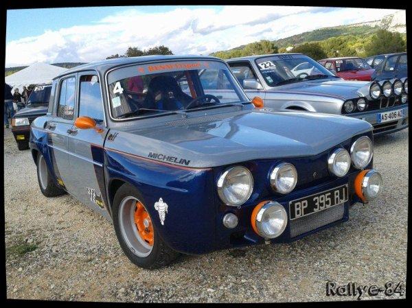 Montée historique de Lioux 2014 - Renault 8