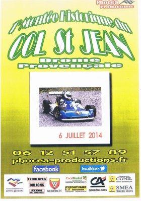 Montée historique du Col St Jean 2014