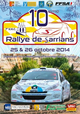 Rallye de Sarrians 2014