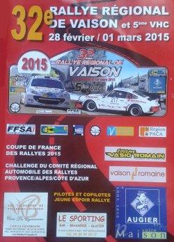 Rallye de Vaison 2015