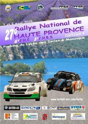 Rallye de Haute Provence 2015