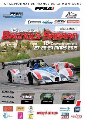 Course de côte de Bagnols-Sabran 2015