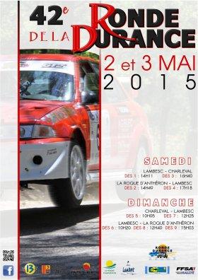 Rallye Ronde de la Durance 2015