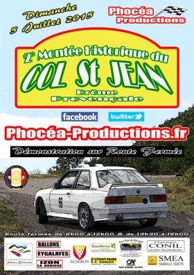 Montée historique du col St Jean 2015