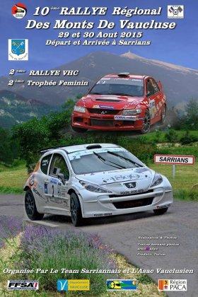 Rallye des Monts de Vaucluse 2015