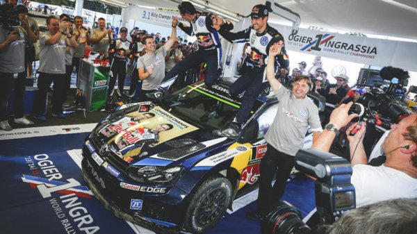 Champion du Monde des rallyes Wrc 2015 [1400e article]