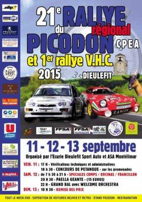 Rallye du Picodon 2015