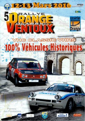 Rallye Orange Ventoux Classic 2016