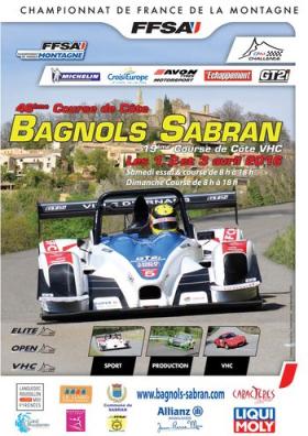 Course de côte de Bagnols Sabran 2016