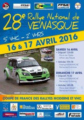 Rallye de Venasque 2016