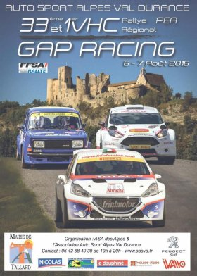 Rallye Gap-Racing 2016