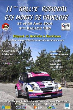 Rallye des Monts des Vaucluse 2016