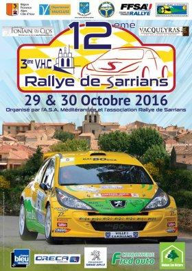 Rallye de Sarrians 2016