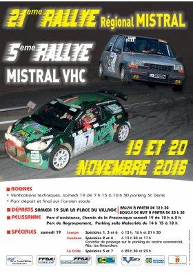 Rallye du Mistral 2016