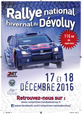 Rallye Hivernal du Dévoluy 2016