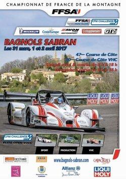 Course de côte de Bagnols-Sabran 2017