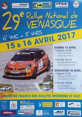 Rallye de Venasque 2017