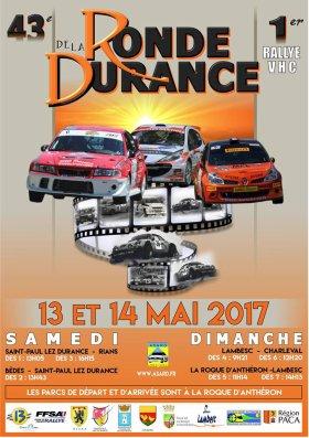 Rallye Ronde la Durance 2017