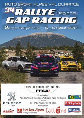 Rallye Gap-Racing 2017