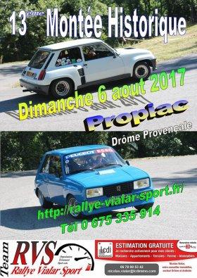 Montée historique de Propiac 2017