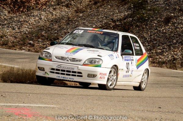 #9 Stéphane Point & Eddie Baumet - Citroën Saxo N/2S