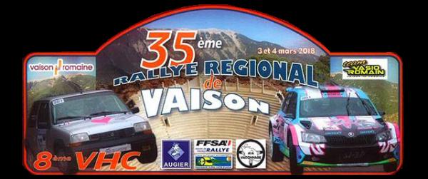 Rallye de Vaison 2018