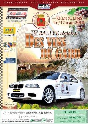 Rallye des Vins du Gard 2018