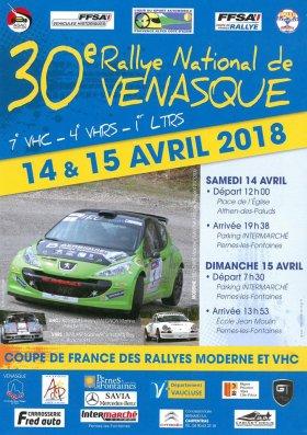 Rallye de Venasque 2018