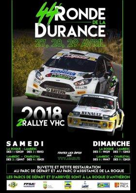 Rallye Ronde de la Durance 2018