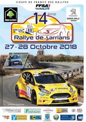 Rallye de Sarrians 2018